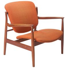 Finn Juhl Lounge Chair for France & Son   From a unique collection of antique and modern armchairs at https://www.1stdibs.com/furniture/seating/armchairs/