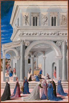 Fra Carnevale (Bartolomeo di Giovanni Corradini) | The Birth of the Virgin | The Met
