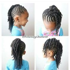 Love this for young girls and adults alike!   #HairStyles
