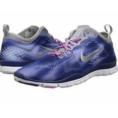 HOST PICK!! Nike Free 5.0 in blue, grey and silver Final Price! Style Essentials Host Pick! Brand new Nike Free 5.0 in blue, grey and silver swoosh! Size 7.5, but runs a half size small so listed as a size 7. High quality mesh interior with cushioned insoles for extra support during strength or core training and or running. Ultralight Flywire cables at the forefoot provide support and dynamic stability needed for quick movement. No PayPal or trades. No discounts unless bundled. Nike Shoes