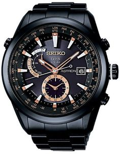 Seiko Astron GPS Solar SAST001G Watch: Amazon.co.uk: Watches