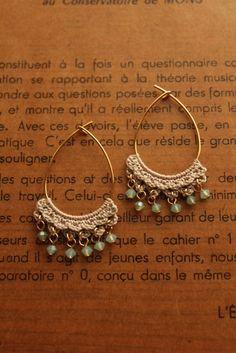 crochet earrings                                                                                                                                                                                 More