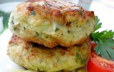 Hearty and healthy cutlets from zucchini / Health Alphabet Vegetable Dishes, Vegetable Recipes, Vegetarian Recipes, Cooking Recipes, Healthy Recipes, Supper Recipes, Appetizer Recipes, Good Food, Yummy Food