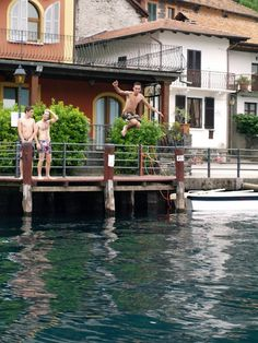 One day on Lake Orta Day