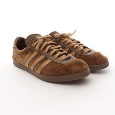 Stylische Sneaker von Adidas in Braun Gr. EU 44,5 - sportiv und retro