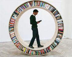 Un concepto original para combinar la lectura y el movimiento!