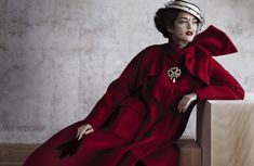 Photographer Jean-Baptiste Mondino | Model Marion Cotillard | Dior Magazine #1, fall 2012