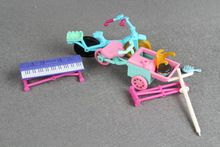 Pet Shop LPS Bike and bumbersoll Accessory toys(China (Mainland))