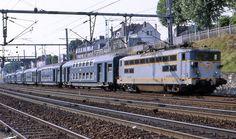 BB 17047 à Mantes (78) Paris Montparnasse, Locs, Tramway, France, Vehicles, Parking Lot, Transportation, Saint Lazarus, Electric Train