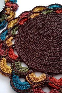 Crochet Potholder Patterns, Crochet Doily Rug, Crochet Placemats, Crochet Coaster Pattern, Crochet Mandala Pattern, Crochet Dollies, Crochet Square Patterns, Crochet Designs, Crochet Crafts