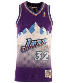 79798337f406 Mitchell   Ness Big Boys John Stockton Utah Jazz Hardwood Classic Swingman  Jersey - Purple