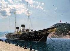"""The Imperial Yacht """"Standart""""."""