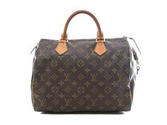 Authentic Louis Vuitton monogram Speedy 30 handbag M41526