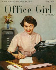 Office Girl magazine, 1951