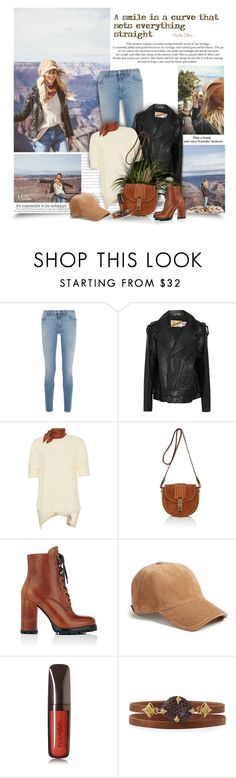 """""""A Smile"""" by thewondersoffashion ❤ liked on Polyvore featuring Givenchy, Vetements, Marni, Altuzarra, Prada, rag & bone, Hourglass Cosmetics and Armenta"""