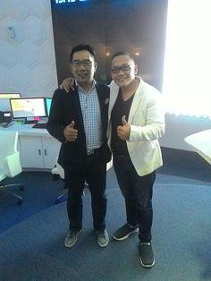 With Mr. Ridwan Kamil  (Bandung Major)