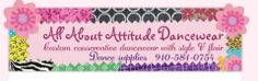 Welcome to All About Attitude Dancewear.  A place where you can design your own dance shorts, dance tops & dance leggings.  Also available are dance supplies and Rac-N-Roll products.