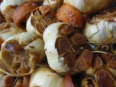 Avanti Cafe Musings: All Sorts of Dishes Flavored w/ Roasted Garlic