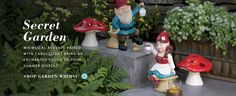 Gnomes are good luck and keep those critters away!  Everyone needs them in their Garden