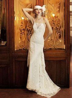 Risultati immagini per abiti sposa stile anni 70