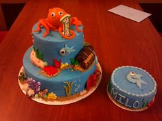Milo's cake made by Jayme at Jayme Sue's Cakes https://www.facebook.com/pages/Jayme-Sues-Cakes/390149854424892