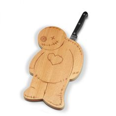 Voodoo Cutting Board with Knife - Only £14!!