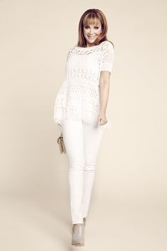 This knit poncho sweater features an on-trend fringed hem. #festival #laurenscloset