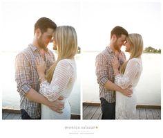 White Rock Lake Engagement Photos | Erin & Jacob | Destination Wedding