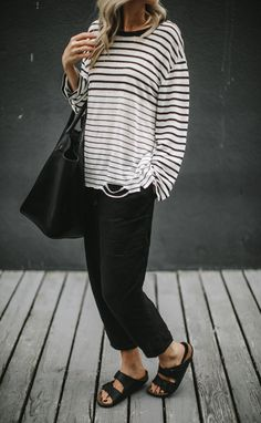 ab60c11549 Linen trousers €102 Seaside Tones Black Linen Pants