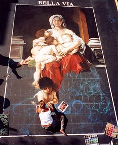 Street Paintings by Melanie Stimmell Van Latum | Art of Day