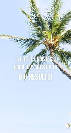 A LITTLE PROGRESS EACH DAY ADDS UP TO BIG RESULTS Head over to www.V3Apparel.com/MadeToMotivate to download this wallpaper and many more for motivation on the go! / Fitness Motivation / Workout Quotes / Gym Inspiration / Motivational Quotes / Motivation