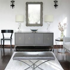 Haute Khuuture Interior Design Decoration Home Décor Fashion forward Glam Luxe Haute Chic Sophisticated Modern Global Glamour Eclectic Antique Vintage Traditional Bohemian Chic Romantic Hollywood Regency Gold Elegant Stylish Living Room Dining Room Bedroom Suite Powder Bathroom Office Foyer Parisian Chic French Provincial Mixed Prints Grey Bedroom