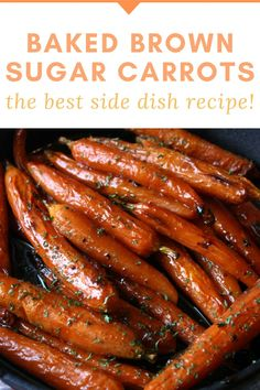 Baked Brown Sugar Carrots