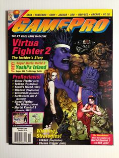 Gamepro November 1995 #gaming #gamer #magazines