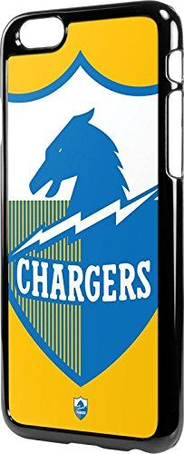 NFL San Diego Chargers iPhone 6/6s LeNu Case - San Diego Chargers Retro Logo Lenu Case For Your iPhone 6/6s. Simple Yet Refined Case Protection For Your Apple iPhone 6/6s. NFL San Diego Chargers - Officially Licensed. Single-Piece Layer Protective Snap For A Minimalistic Look & Feel. Finished With A Premium San Diego Chargers Vinyl Decal Made By Skinit. Engineered For A Precision iPhone 6/6s Fit.