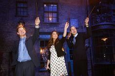 Prince William (Harry), Kate Middleton (Hermione) and Prince Harry (Ron, He's A Ginger Duh) Go To Hogwarts (YOU'RE WELCOME)