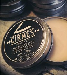 Rosemary Lemon Moustache Wax | Men's Grooming | Cirmes | Scoutmob Shoppe | Product Detail