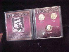 First Commemorative Mint JFK Kennedy Half Dollar Mint Mark Collection PDS | eBay
