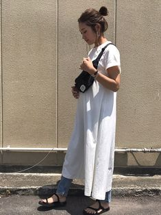 Hot Weather Outfits, Summer Outfits Women Over 40, Girl Fashion, Fashion Outfits, Summer Wear, Korean Fashion, Casual Outfits, Clothes For Women, Stylish