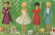 barbie+crochet+ball+gown+patterns+free | Barbie and Fashion Doll Patterns Free Crochet Patterns