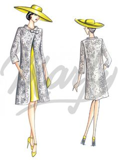 Our Patterns :: Marfy Collection 2015/2016 :: Sewing Pattern 3623 -