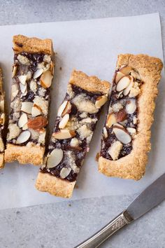 Almond Jam Tart (Gluten-Free, Vegan) – Salted Plains