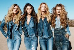 How To Wear Double Denim For Men  Women http://thejeansblog.com/jeans-advice/how-to-wear-double-denim/