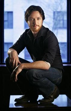 James McAvoy with a beard.  Oh yes, please!