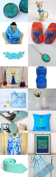 Blue Water Dreams by V. Dotter on Etsy--Pinned+with+TreasuryPin.com