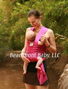 Passionberry Beachfront Baby Wrap- just ordered this to use at the beach & Sesame Place with Emma!