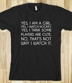 Hockey Girl T-Shirt