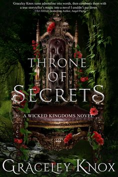 Throne of Secrets by Graceley Knox (October Book 3 of series. Ya Books, Book Club Books, I Love Books, Book Nerd, Good Books, Book Clubs, Book Series, Fantasy Books To Read, Fantasy Book Covers