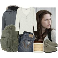 Bella Swan clothes, again. I'm a cranky nerd like her character. Bella Swan, Twilight Outfits, Cute Sweatpants Outfit, Cool Outfits, Fashion Outfits, Movie Outfits, Casual Outfits, Women's Fashion, Character Inspired Outfits