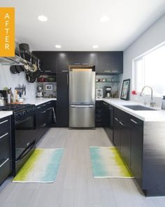 Kitchen Before & After: A Dark, Dull Kitchen Gets a Sophisticated Update — Reader Kitchen Remodel